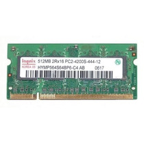 Memorias Sodimm 1gb 2x512mb Hynix Pc2-4200 Ddr2 Laptop
