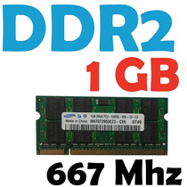 Memoria Ram 1 Gb Ddr2 667 Mhz Pc2-5300 Para Laptop Garantia