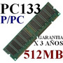 Oferta:memoria Ram 512mb Dimm Sdram Pc133 P/ Computadora Css