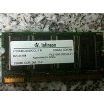 Memoria Para Lap Top Infineon De 256mb Pc2100s-2033-0-a1 Ddr