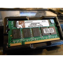 Memoria Ram Kingston Laptop 1gb Pc2700 333mhz Ddr333 Sodimm