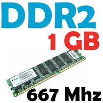 Memoria Ram 1 Gb, Ddr2 667 Mhz Pc2-5300 Para Pc Varias