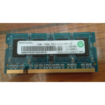 Memoria Ram Laptop Ddr2 Ramaxel 1gb 1rx8 Pc2-6400s-666