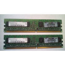Memoria Original Hp 512mb 1rx8 Pc2-4200u-444-11-a1