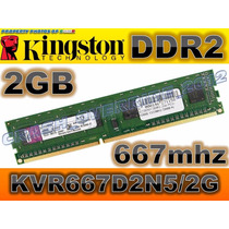 Memoria Ram Kingston 2gb 667mhz Kvr667d2n5/2g Ddr2 Para Pc