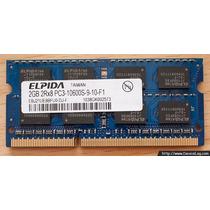 Memoria Ram Ddr3 2gb Laptop Remate Excelente