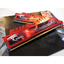Memoria Ram 4gb Ripjaws X Red 1600mhz 1x4 G.skill Gaming