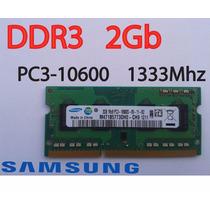 Memoria Ram Ddr3 2gb Pc3-10600 1333mhz Samsung Para Laptop
