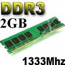 Oferta: Memoria Ram P/ Pc Pc3-10600 De 2gb Ddr3 1333 Mhz