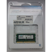 Memoria Certificada Para Mac 4gb Crucial Ddr3-1600 Mhz Apple