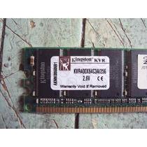 Kingston Kvr400x64c3a/256 Memoria Ram 256mb Ddr 400 Pc3200 U