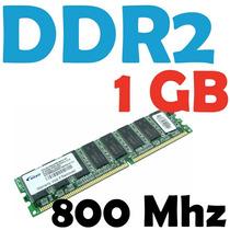 Memoria Ram Ddr2 1gb, Varias Marcas 800 Mhz Pc2-6400 Para Pc