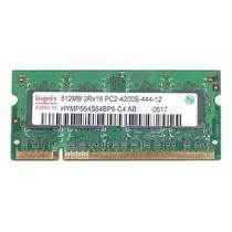 Memorias Sodimm 1gb 2x512mb Hynix Pc2-4200 Ddr2 Laptop