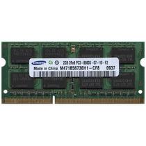 Memoria Ram 2gb Pc3-8500s Ddr3 1066mhz Sodimm Laptop