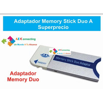 Adaptador Memory Stick Duo A Superprecio