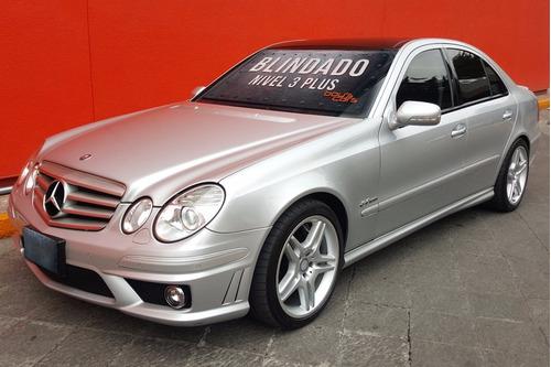 Mercedes Benz E63 Amg 2008 Blindado Nivel 3 Plus