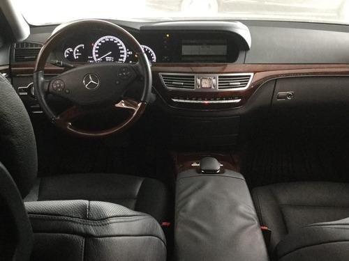 Mercedes Benz S 500 2012 Negro