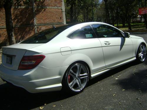 Mercedes C250 Cgi Amg Aut Piel Xenon Rin 19 Impecable