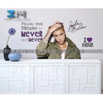 Vinilos Decorativos Justin Bieber-11 Calcomanías Artistas.