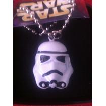 Dije Casco Stormtrooper Star Wars Igo Coleccionables!