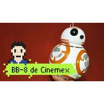 Cubeta Bb8 Tooper Palomero Bb-8 Cinemex Star Wars