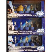 Star Wars Coleccion De 3 Cajas De Corcholatas Pepsi Japon