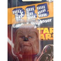 Dispensador - P E Z - Con Dulces Figura De Chewbacca
