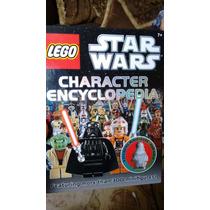 Lego Star Wars Enciclopedia Personajes Libro Guia Figuras