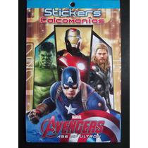 Avengers Age Of Ultron Stickers 226 Etiquetas Autoadheribles