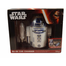 The Force Awakens R2-d2 Cargador Usb Para Automovil Nuevo