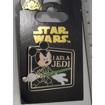 Star Wars Luke Mickey Pin Exclusivo De Disney Nuevo