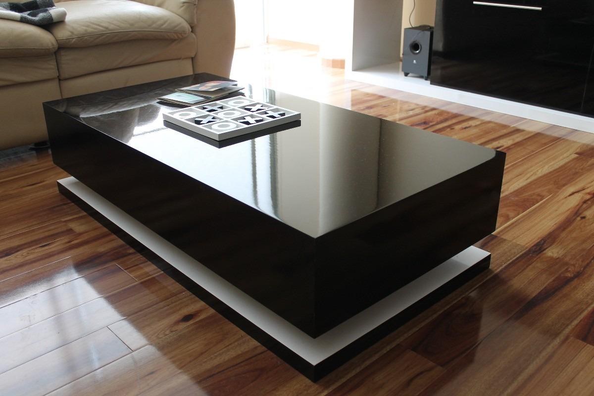 mesa de centro minimalista modelo flotada dise o nesign