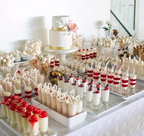 Mesa de postres y dulces para bautizo imagui - Postres para mesa de dulces ...