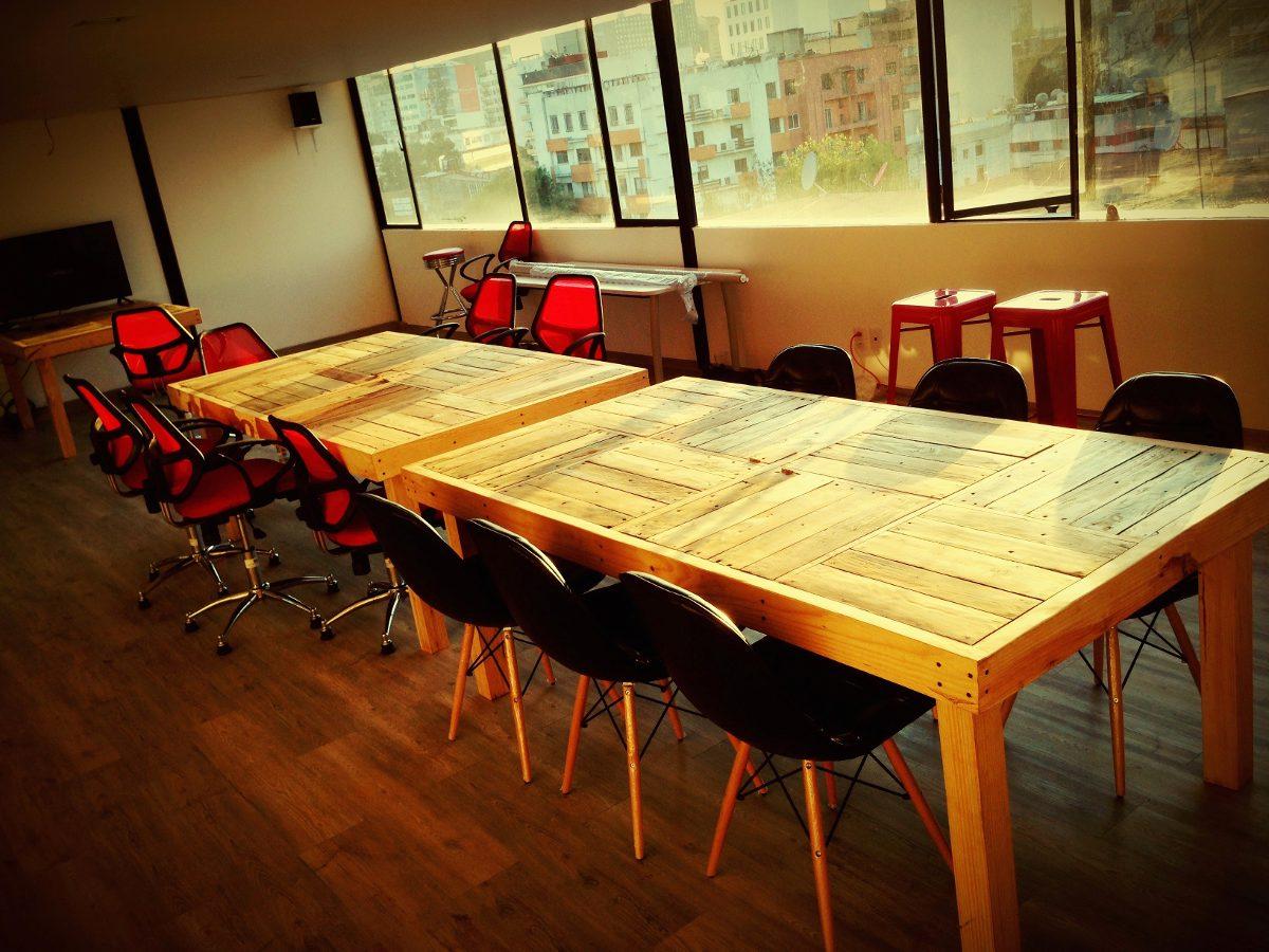 Muebles madera reciclada mexico 20170728231530 for Comedor para oficina