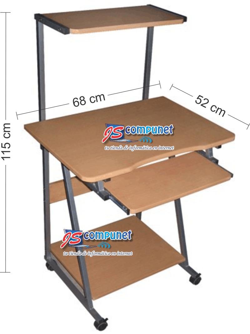 Mesa para pc madera con alzada car interior design for Sillas de escritorio walmart