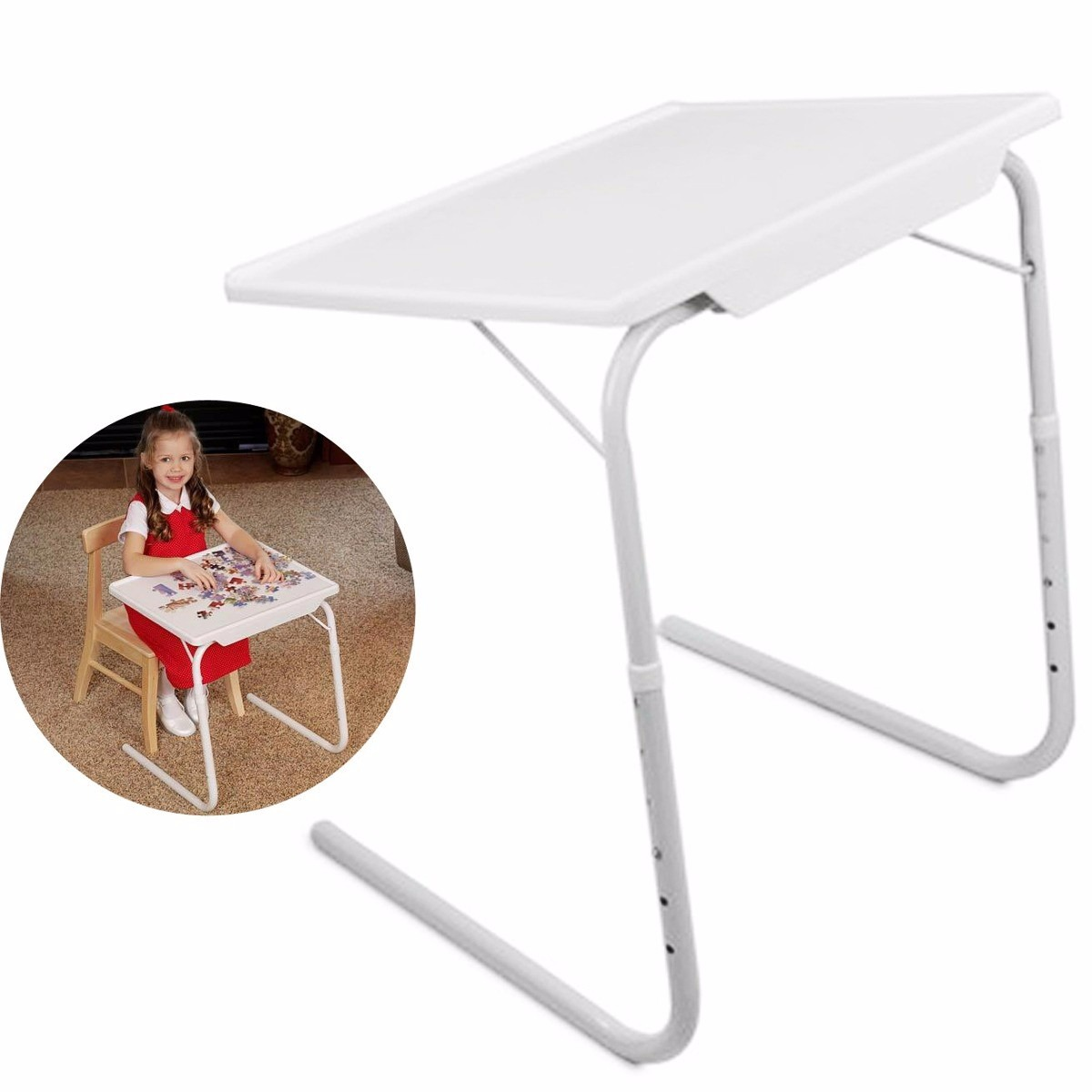 mesa plegable multiusos practica portatil table mate