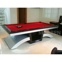 Mesa De Billar Black Diamond De Ultra Lujo - Envio Gratis