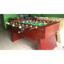 Futbolito Residencial Pura Madera $4300