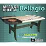Mesa De Ruleta Profesional Bellagio - Envío Grátis