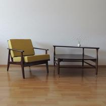 Mesa Auxiliar O Lateral Muebles Malinche Años 50s Vintage