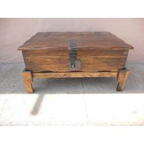 Mesa De Centro Baúl Rústico.madera De Pino.excelente Calidad