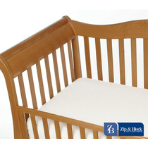 Zip And Block Anti-allergen Crib Mattress Encasement