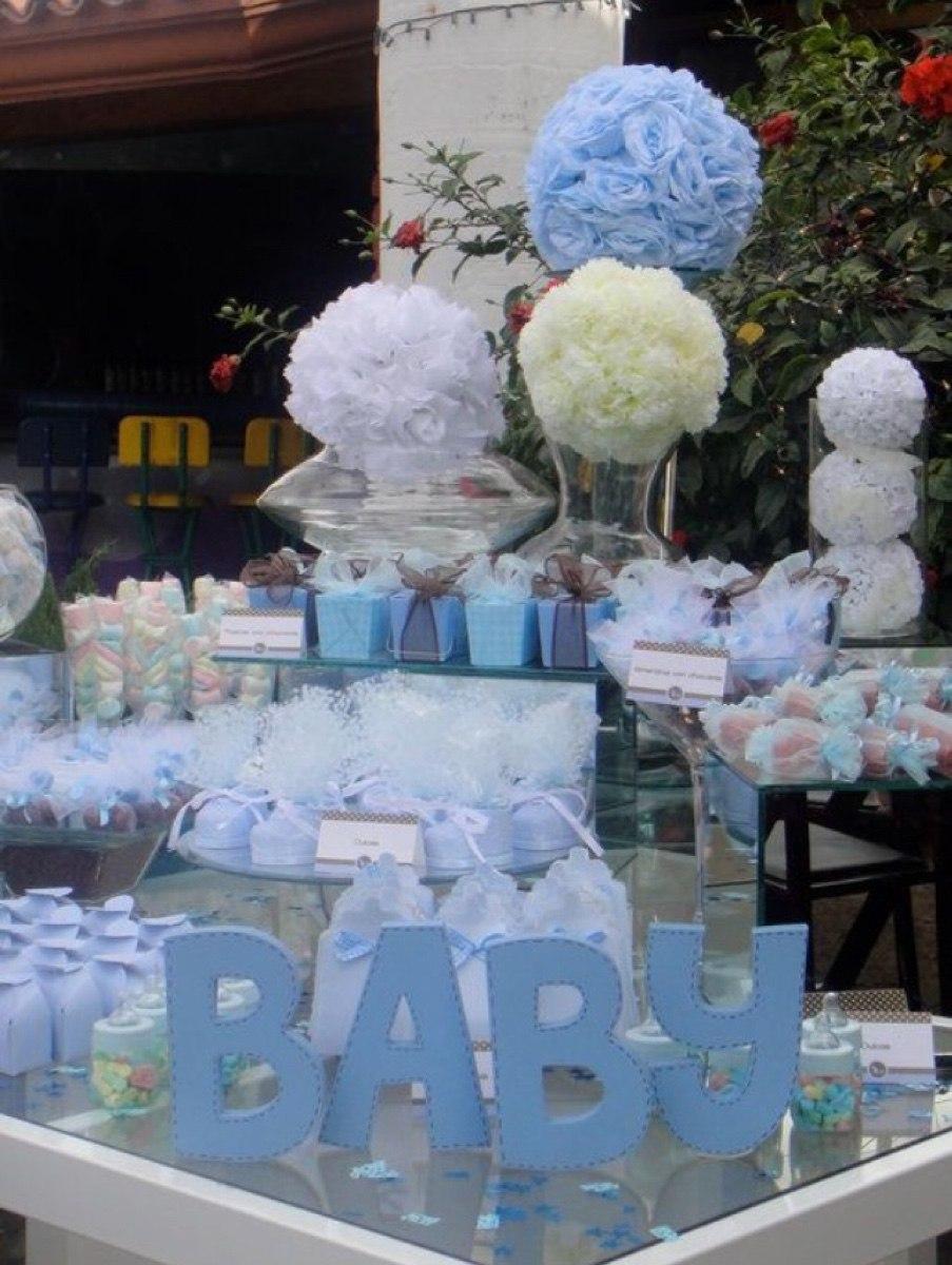 Mesas de dulces centros de mesa recuerdos bautizos baby - Hacer mesa dulce bautizo ...