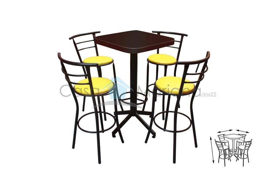 Mesas para restaurante periquero para bar antro cafeteria for Mesas para cafeteria