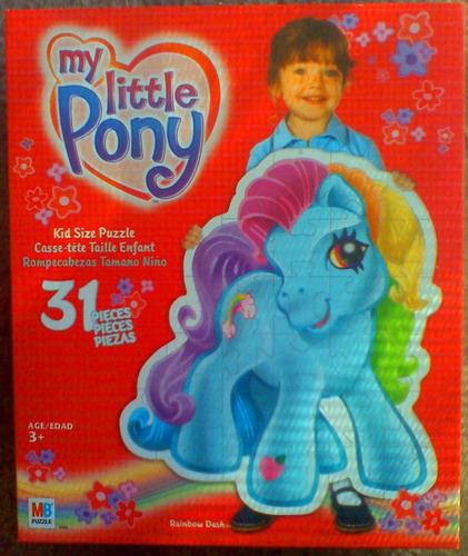 Mi Pequeno Pony Rompecabeza Gigante Al Tamano De Tus Hijos
