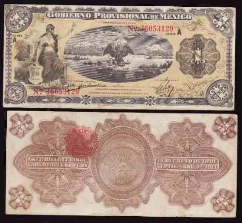 Mi-ver-18 Billete De Veracruz De 1 Peso