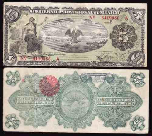 Mi-ver-31 Billete De Veracruz De 5 Pesos