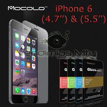 Mocolo Vidrio Templado Mica Iphone 6 Y 6 Plus 0.3mm. Cristal