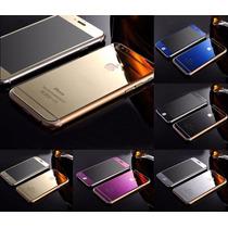 Cristal Templado Frontal Y Trasero Espejo Iphone 6 Y 6 Plus
