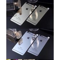 Mica Cristal Tempado Doble Iphone Espejo Trasera Y Delantera